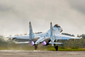 RF-95849 - Russia - Air Force Sukhoi Su-35S