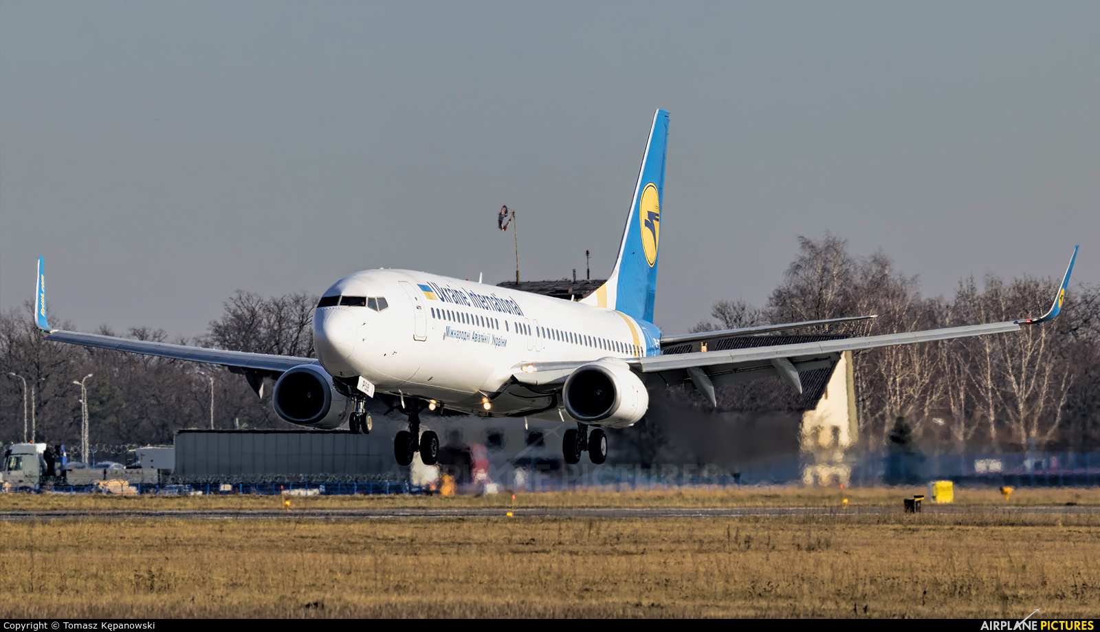Ukraine International Airlines UR-PSB aircraft at Rzeszów-Jasionka