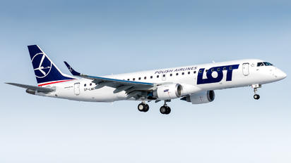 SP-LMC - LOT - Polish Airlines Embraer ERJ-190 (190-100)