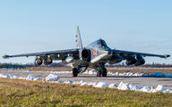 25 - Russia - Air Force Sukhoi Su-25SM aircraft