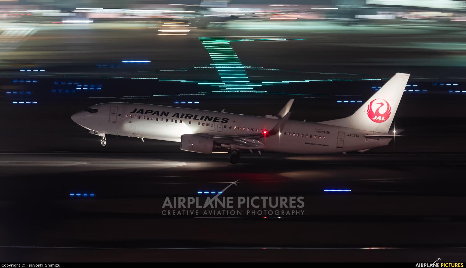 JAL - Japan Airlines JA331J aircraft at Tokyo - Haneda Intl
