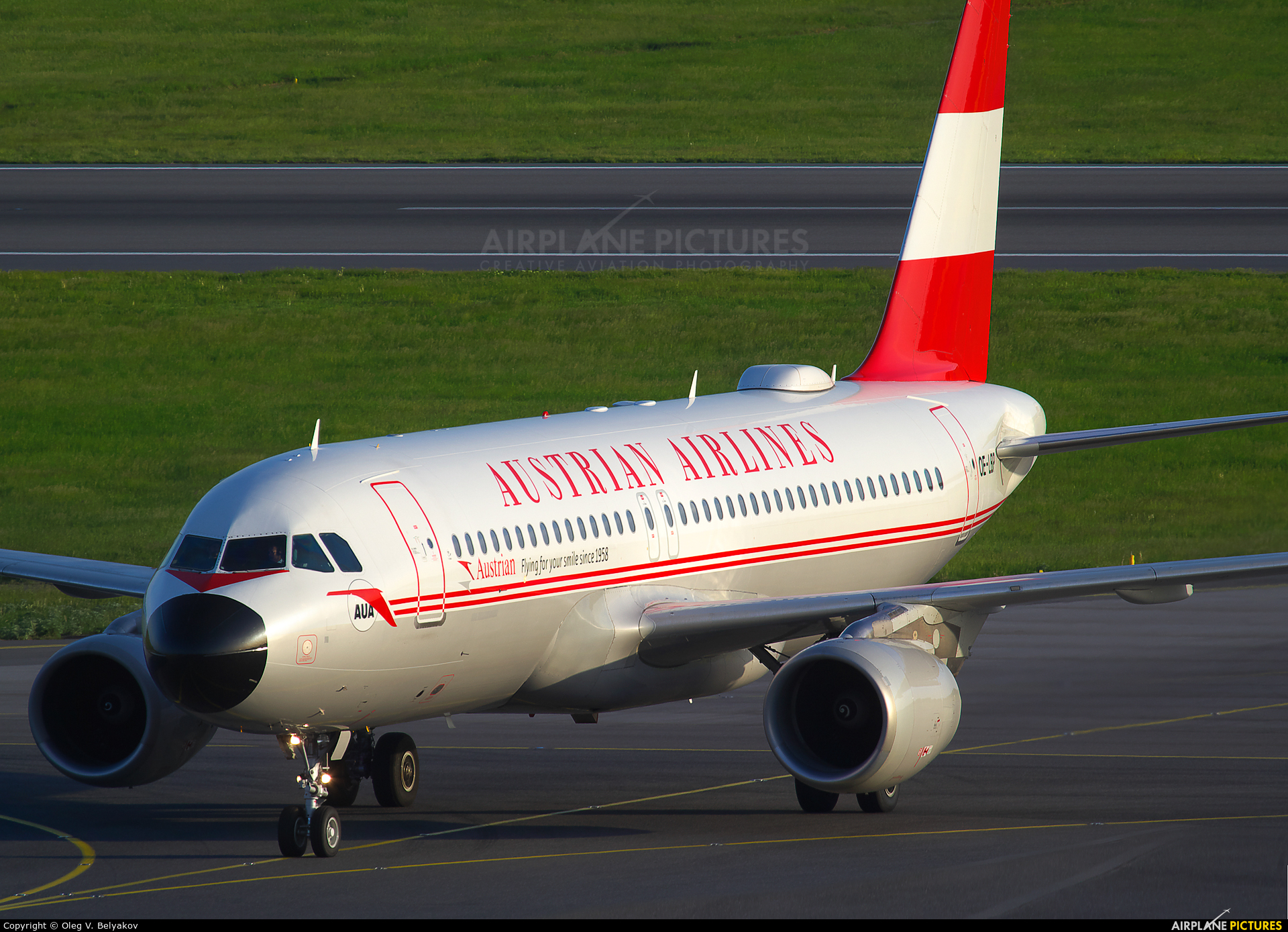 Austrian Airlines/Arrows/Tyrolean OE-LBP aircraft at Vienna - Schwechat