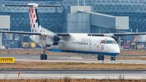 9A-CQE - Croatia Airlines de Havilland Canada DHC-8-400Q / Bombardier Q400 aircraft