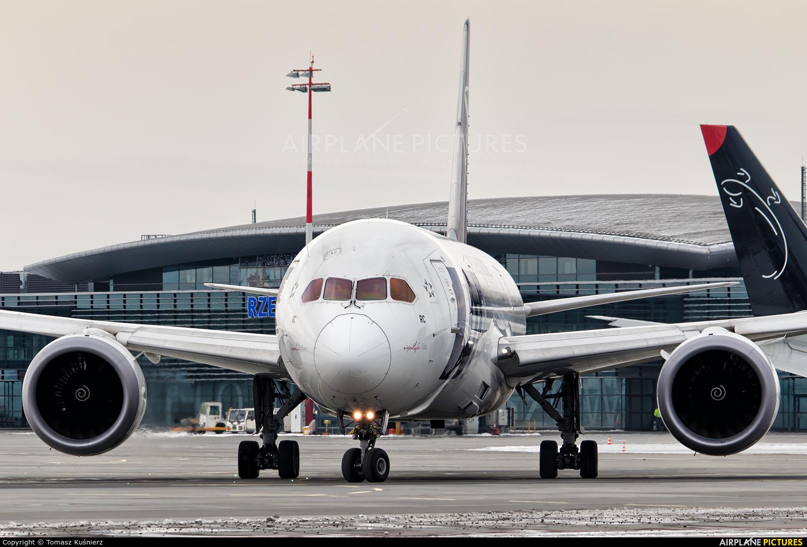 LOT - Polish Airlines SP-LRC aircraft at Rzeszów-Jasionka