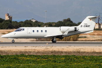 D-CWAY - MHS Aviation Learjet 55