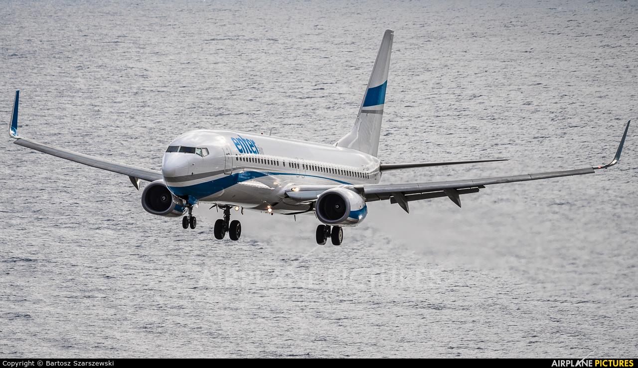 Enter Air SP-ENR aircraft at Madeira