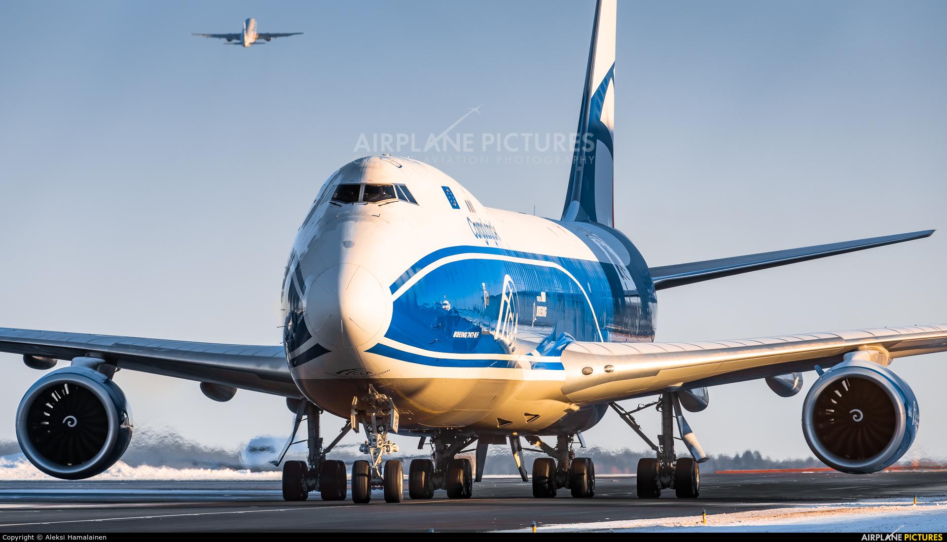 Cargologicair G-CLAB aircraft at Helsinki - Vantaa