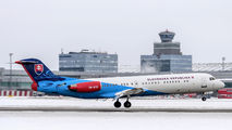 OM-BYB - Slovakia - Government Fokker 100 aircraft