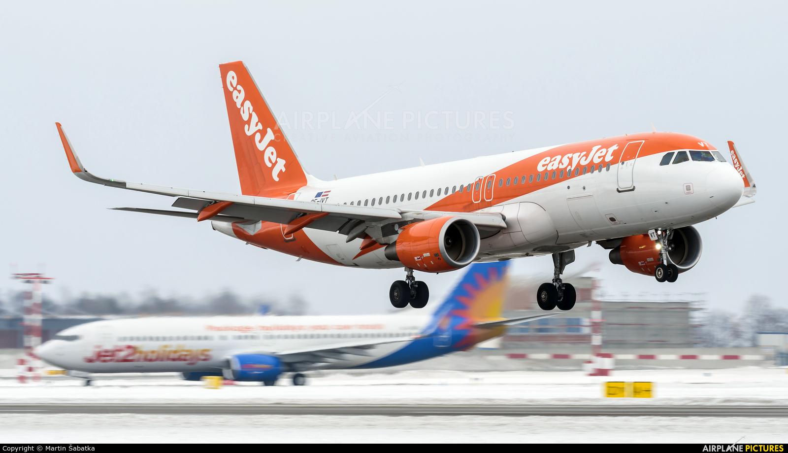 easyJet Europe OE-IVT aircraft at Prague - Václav Havel