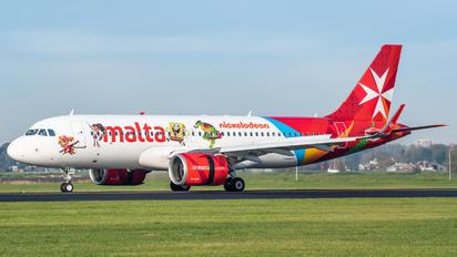 9H-NEO - Air Malta Airbus A320 NEO