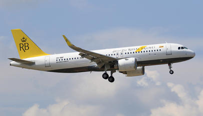 V8-RBF - Royal Brunei Airlines Airbus A320 NEO