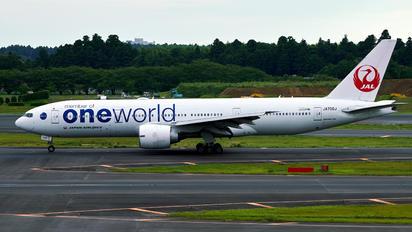 JA708J - JAL - Japan Airlines Boeing 767-200ER