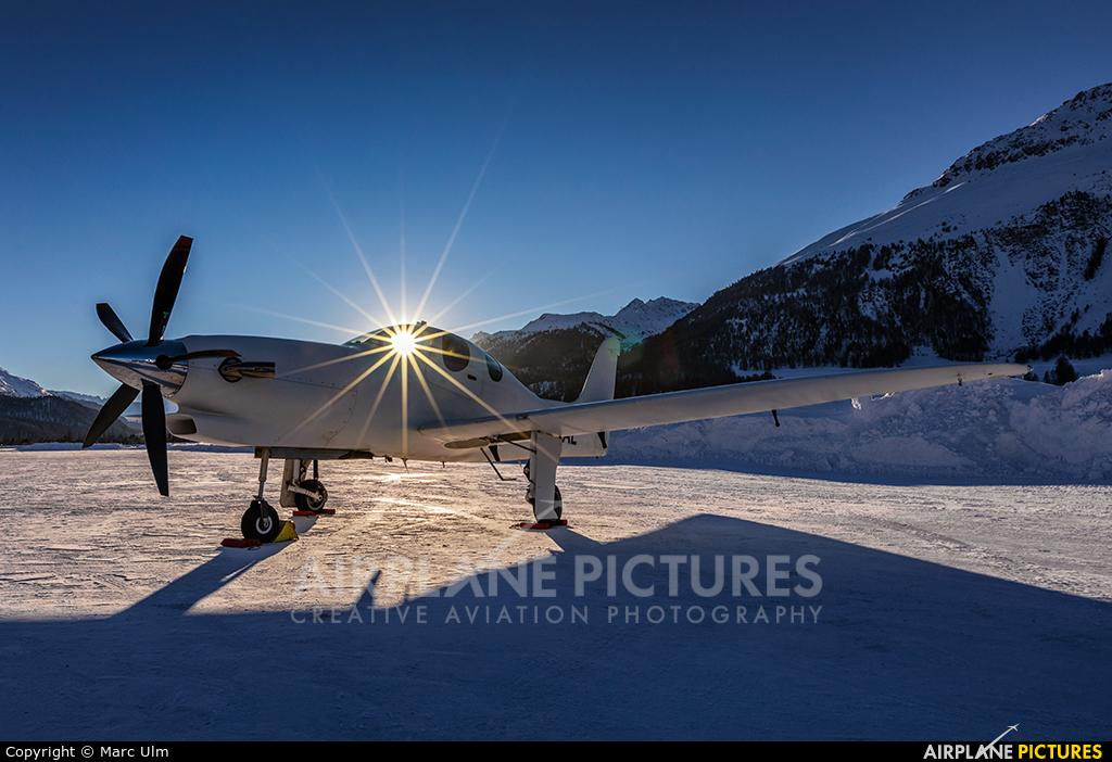 Private N503AL aircraft at Samedan - Engadin