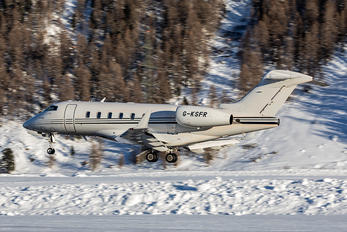 G-KSFR - London Executive Aviation Bombardier BD-100 Challenger 300 series