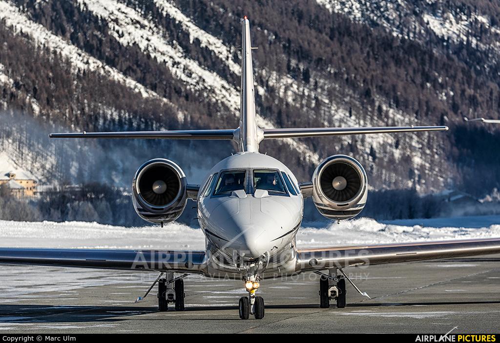 Aerowest D-CAWB aircraft at Samedan - Engadin