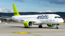 YL-CSD - Air Baltic Bombardier CS300 aircraft