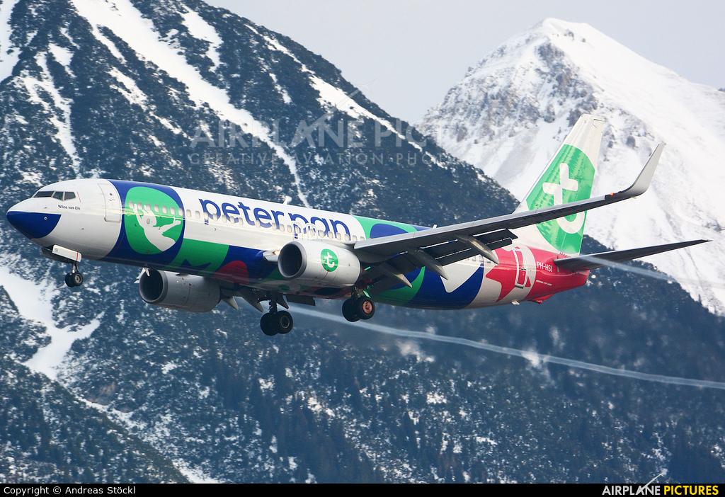Transavia PH-HSI aircraft at Innsbruck