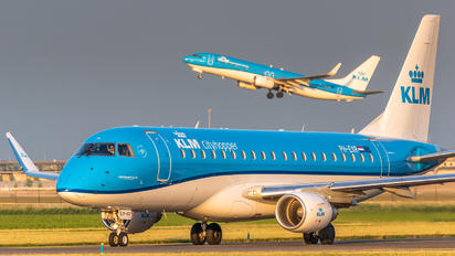 PH-EXR - KLM Cityhopper Embraer ERJ-175 (170-200)
