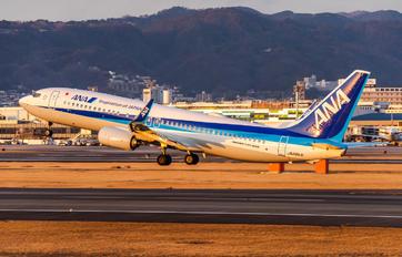 JA88AN - ANA - All Nippon Airways Boeing 737-800