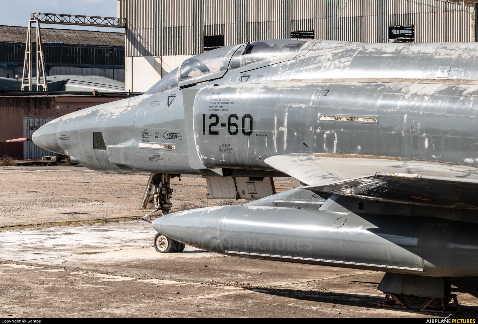Spain - Air Force CR.12-51 aircraft at Seville - San Pablo