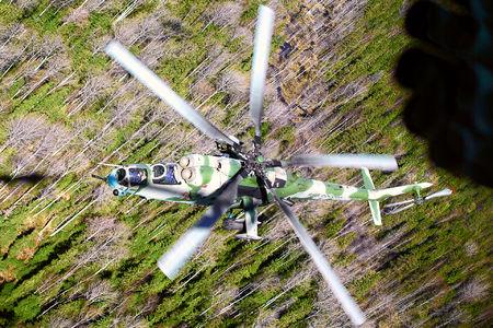 #1 Russia - Air Force Mil Mi-35M 56 taken by Alexander Babashov