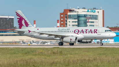 A7-ADA - Qatar Airways Airbus A320