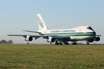 N486EV - Evergreen International Boeing 747-200SF