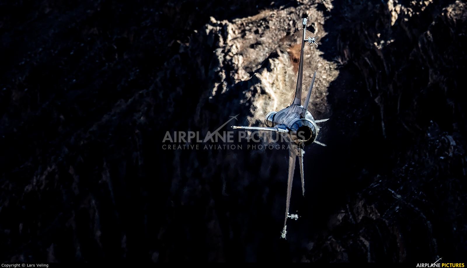 USA - Air Force - aircraft at Rainbow Canyon - Off Airport