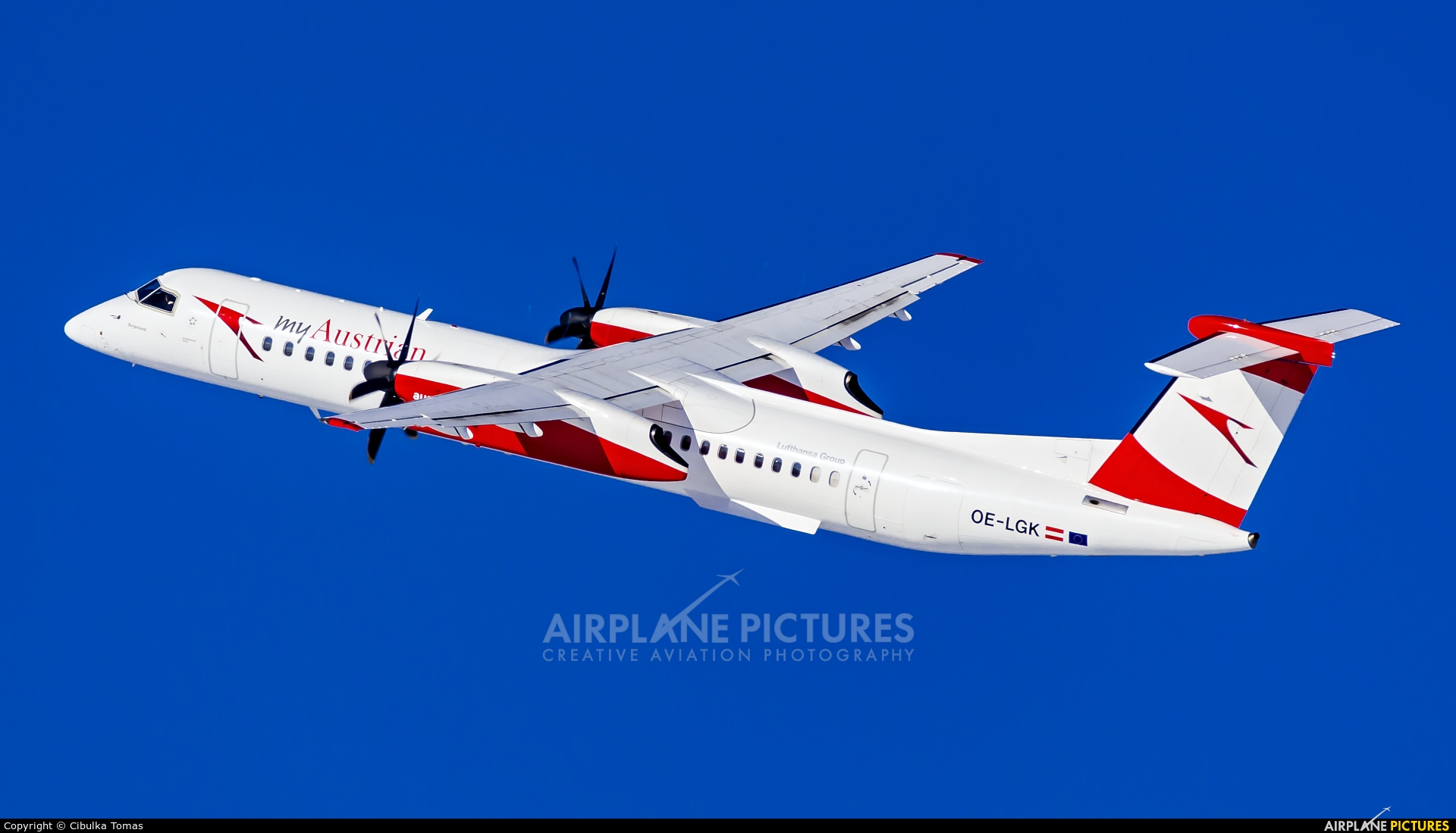 Austrian Airlines/Arrows/Tyrolean OE-LGK aircraft at Prague - Václav Havel