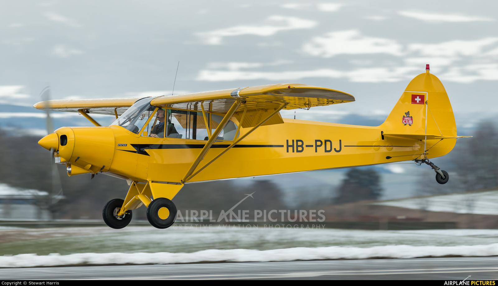 Private HB-PDJ aircraft at Lausanne - La Blécherette