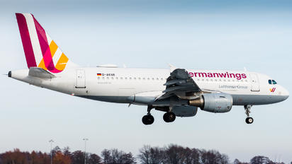 D-AKNR - Germanwings Airbus A319