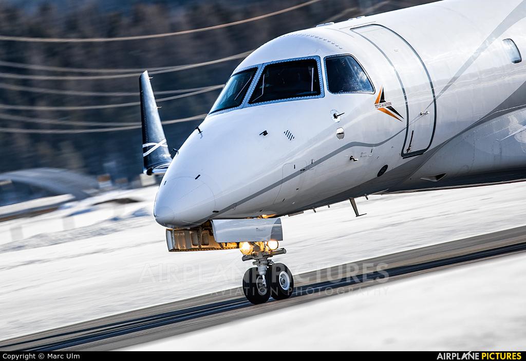 Toyo Aviation YR-IGP aircraft at Samedan - Engadin