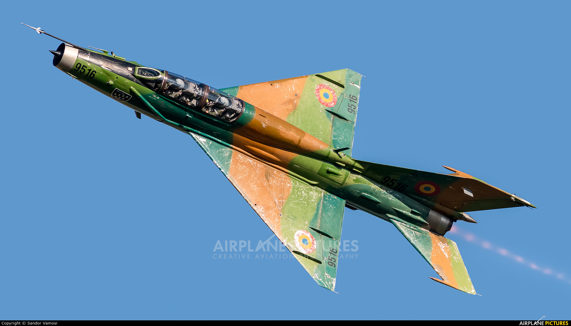 Romania - Air Force 9516 aircraft at Sliač