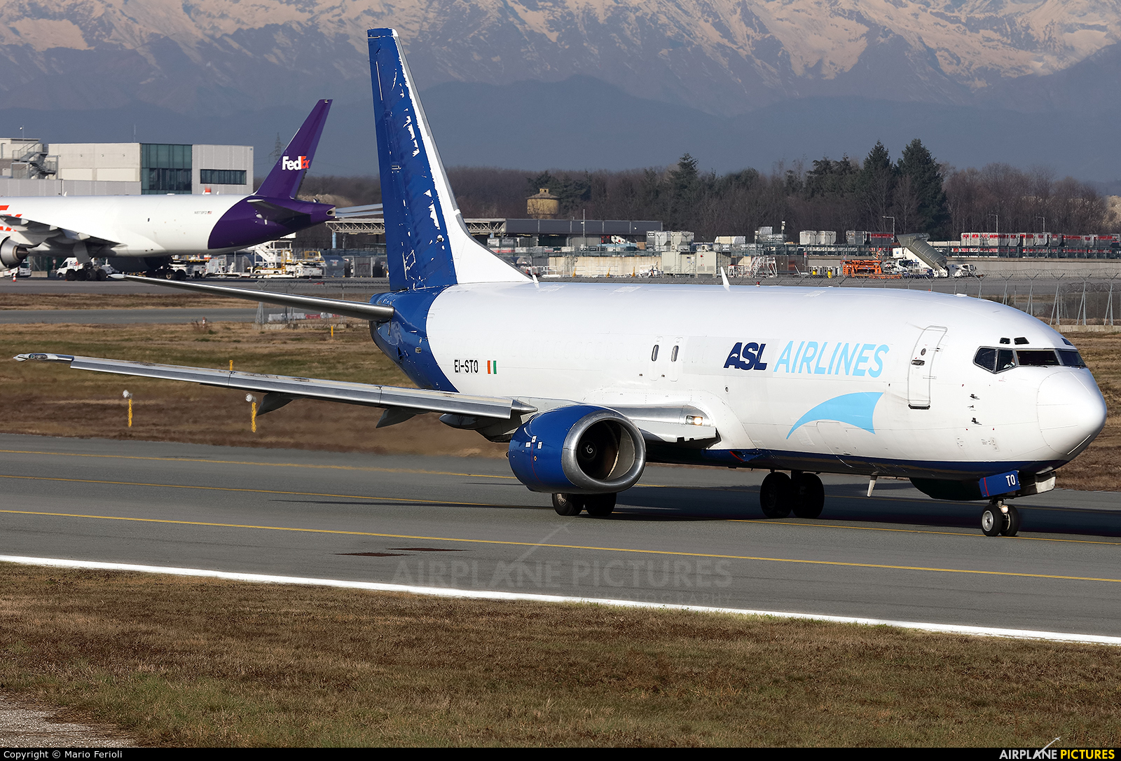 ASL Airlines EI-STO aircraft at Milan - Malpensa