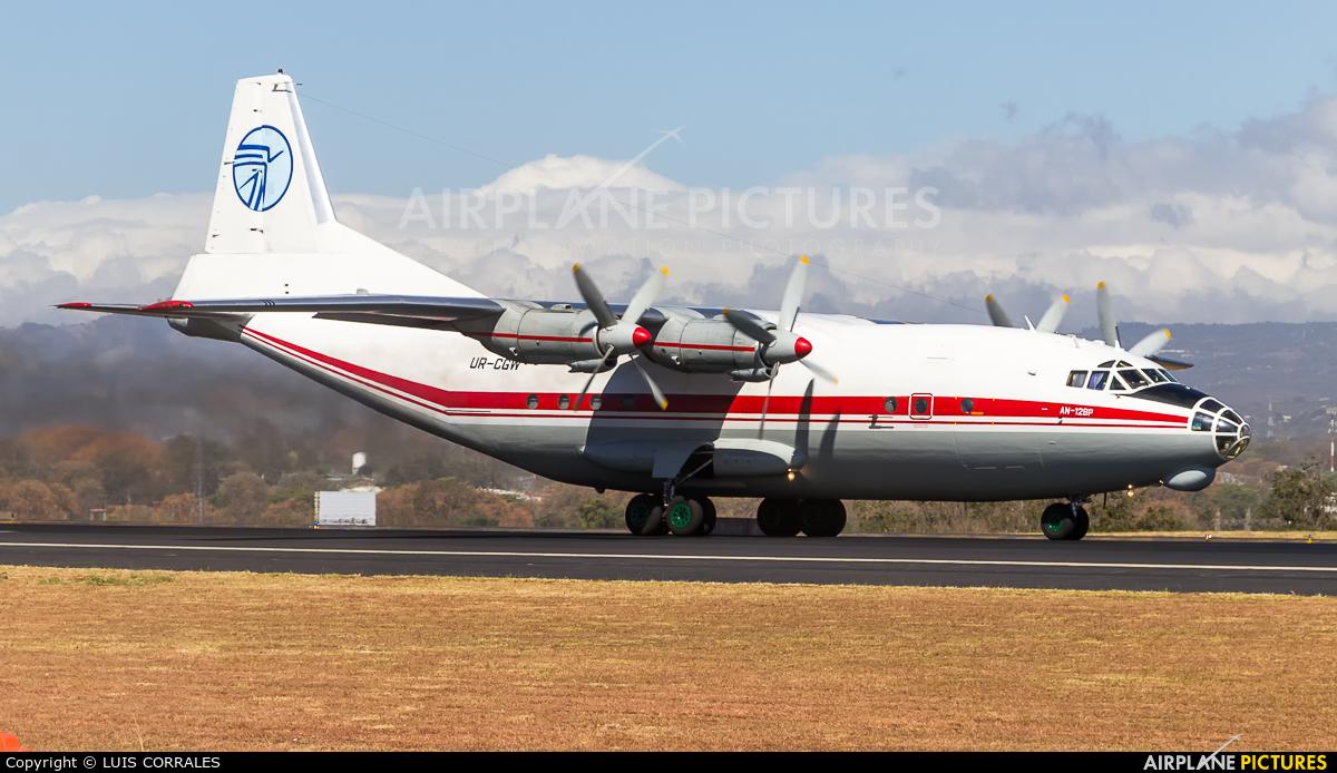 Ukraine Air Alliance UR-CGW aircraft at San Jose - Juan Santamaría Intl