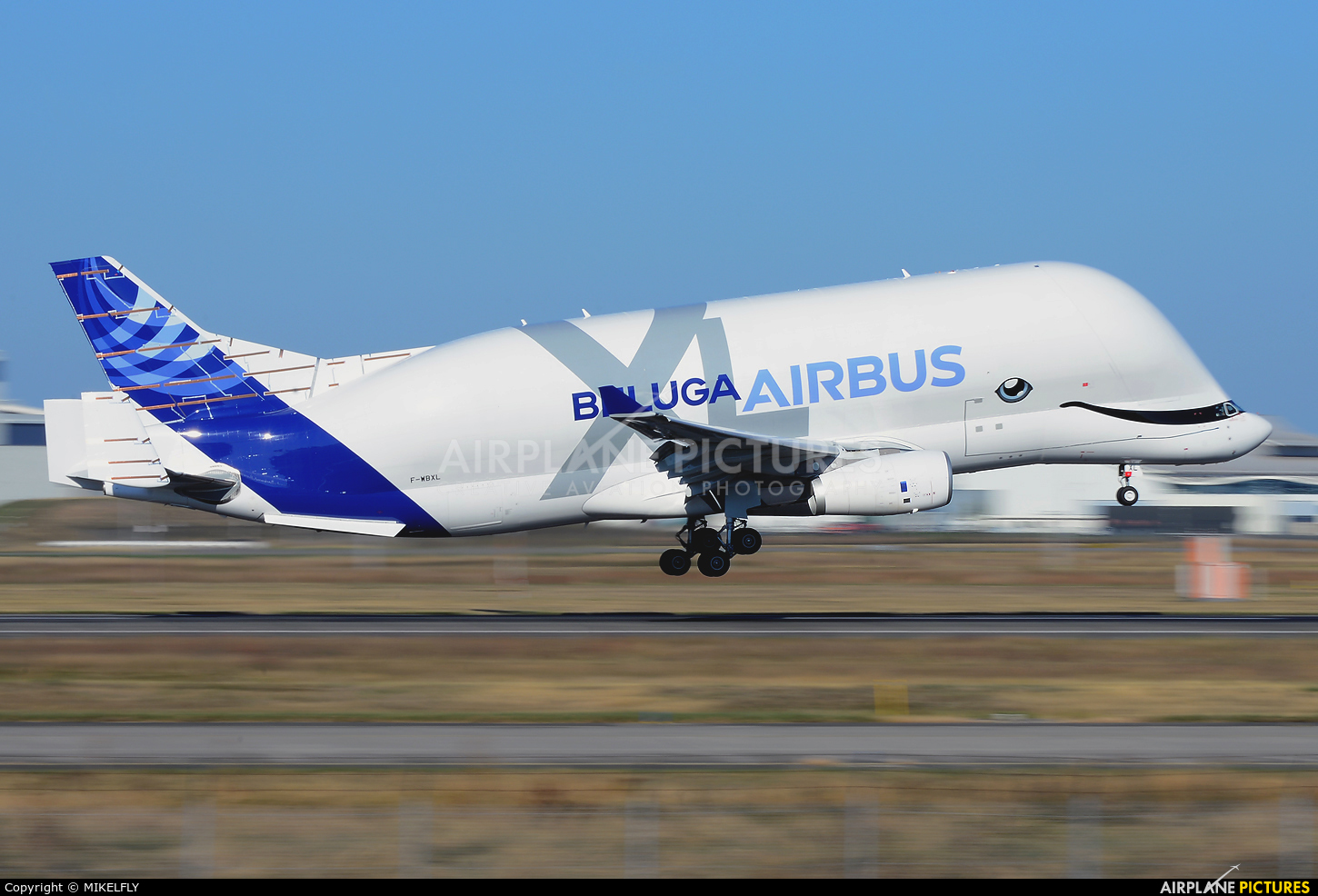 Airbus Transport International F-WBXL aircraft at Toulouse - Blagnac