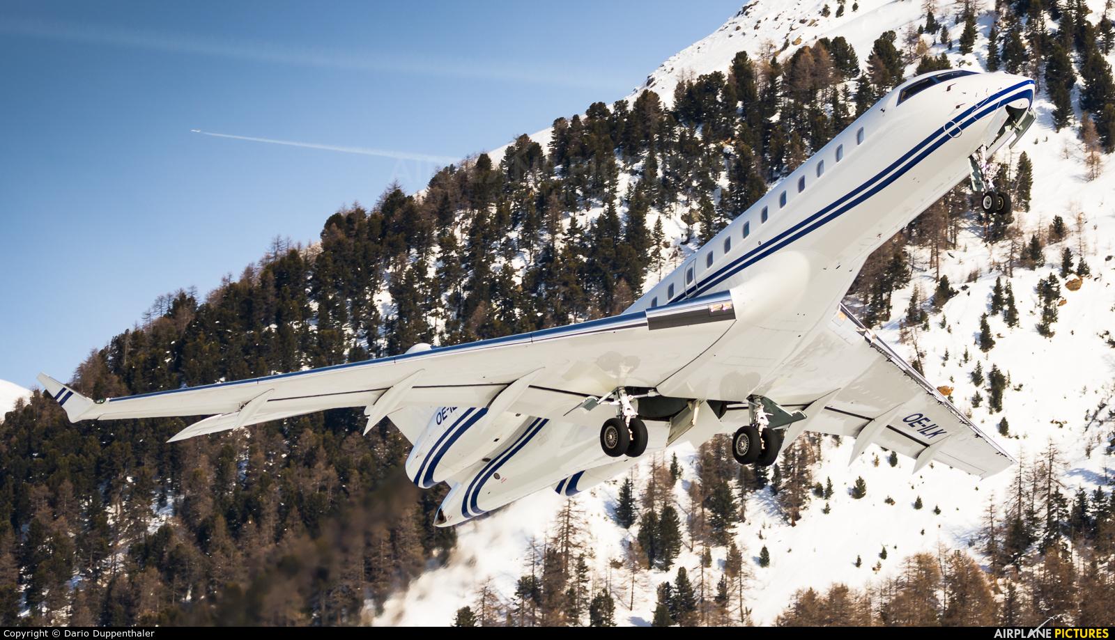 LaudaMotion OE-ILK aircraft at Samedan - Engadin