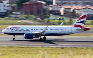 G-TTNC - British Airways Airbus A320 NEO aircraft