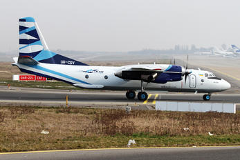 UR-CQV - Vulkan Air Antonov An-26 (all models)