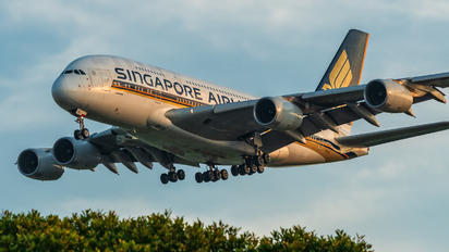 9V-SKL - Singapore Airlines Airbus A380