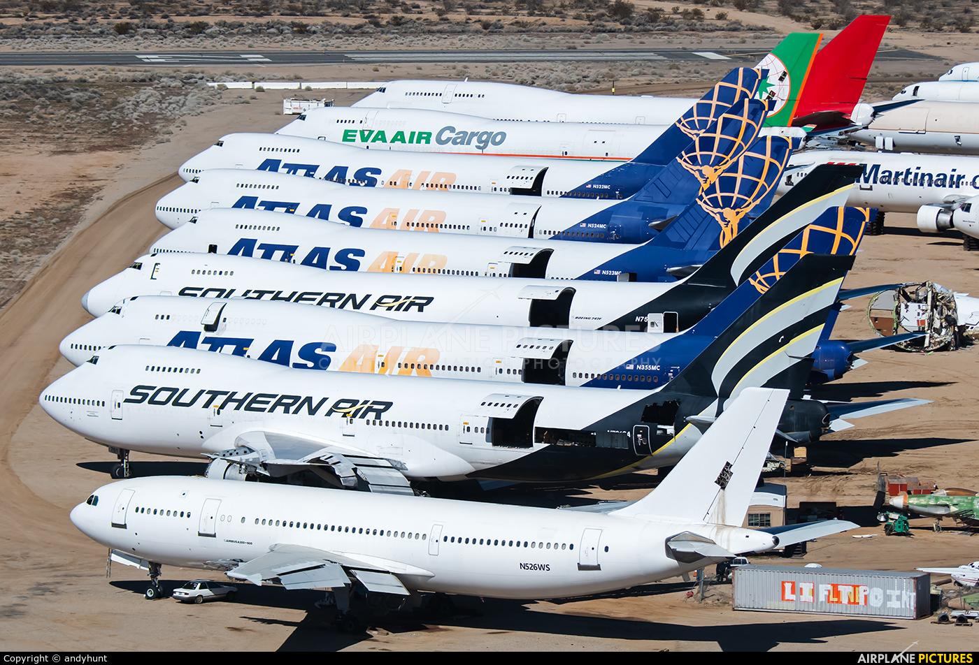 Untitled N526WS aircraft at Mojave
