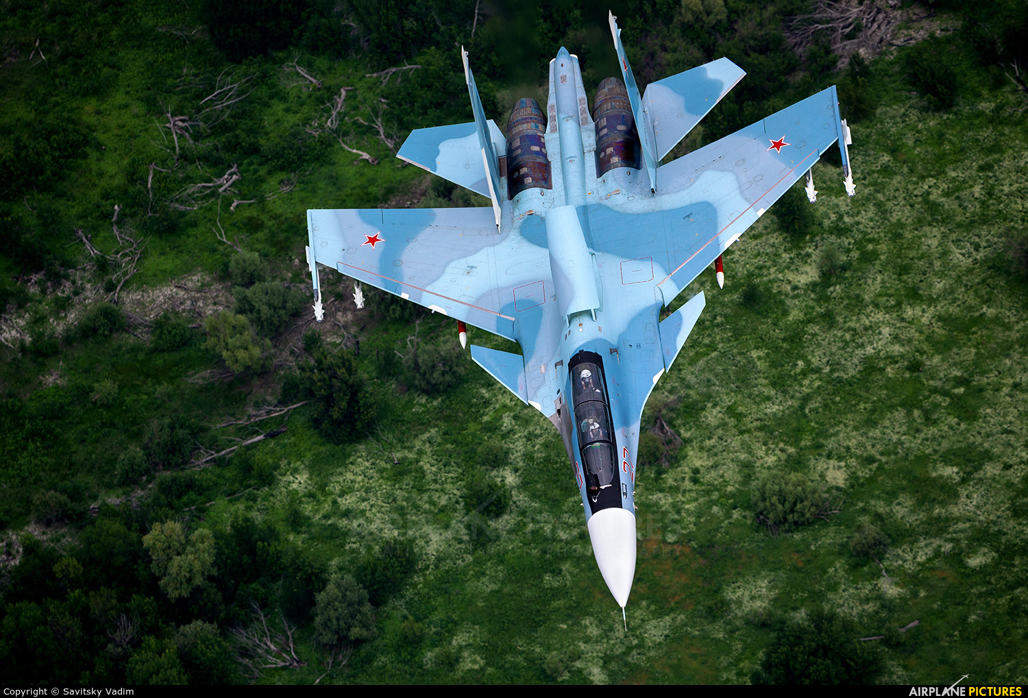 Russia - Air Force 27 aircraft at In Flight - Russia