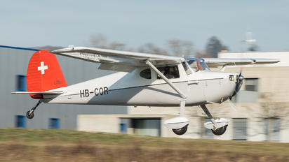 HB-COR - Private Cessna 140