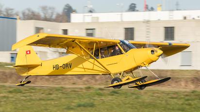 HB-ORV - Groupement de Vol à Moteur - Lausanne Piper PA-18 Super Cub