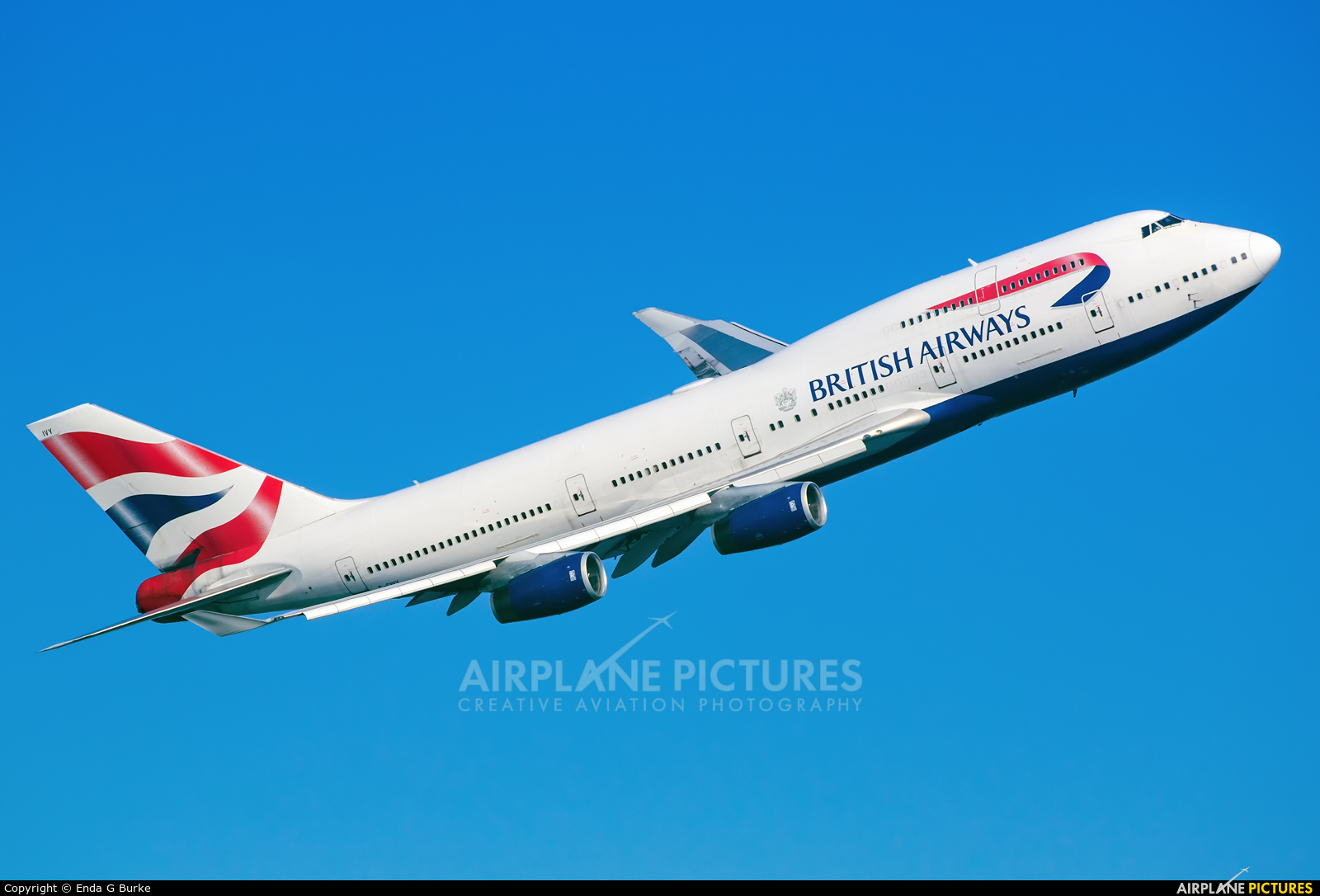 British Airways G-CIVY aircraft at London - Heathrow