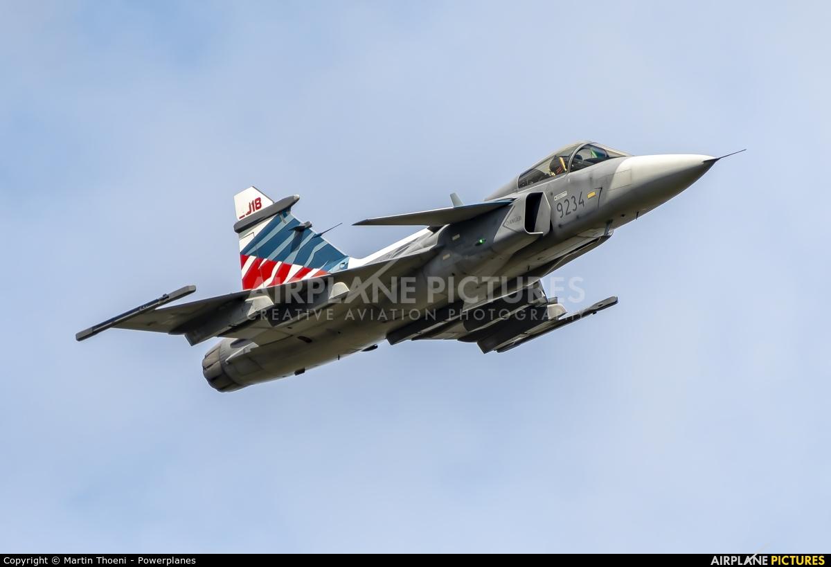 Czech - Air Force 9234 aircraft at Kleine Brogel