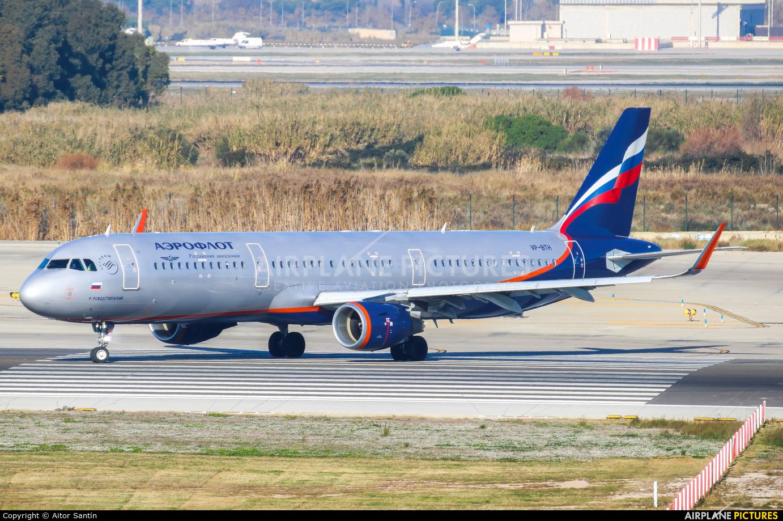 Aeroflot VP-BTH aircraft at Barcelona - El Prat