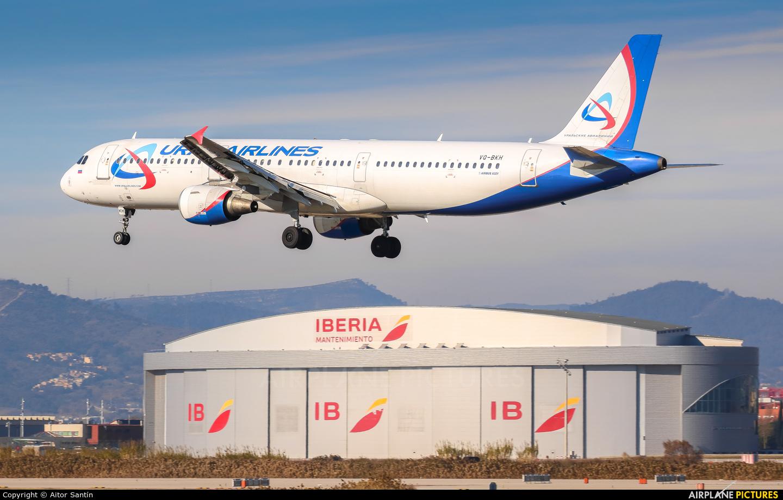 Ural Airlines VQ-BKH aircraft at Barcelona - El Prat