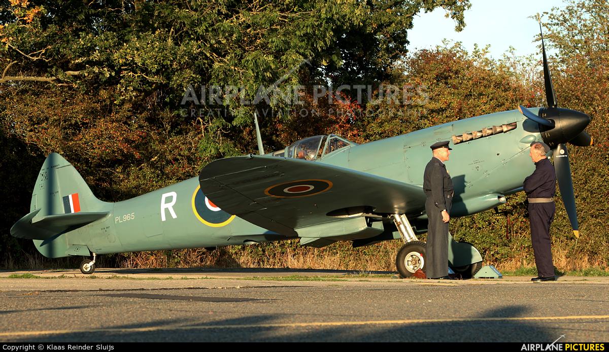 Private G-MKXI aircraft at North Weald