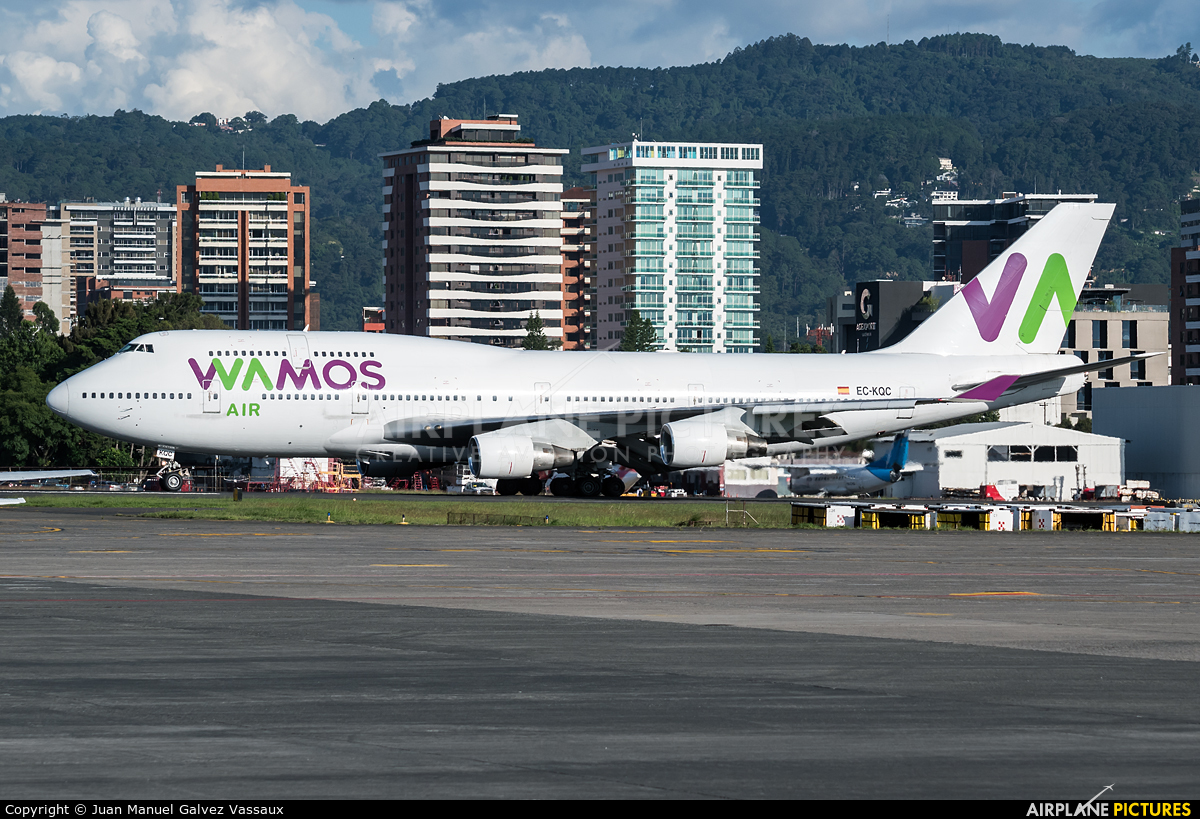 Wamos Air EC-KQC aircraft at Guatemala - La Aurora